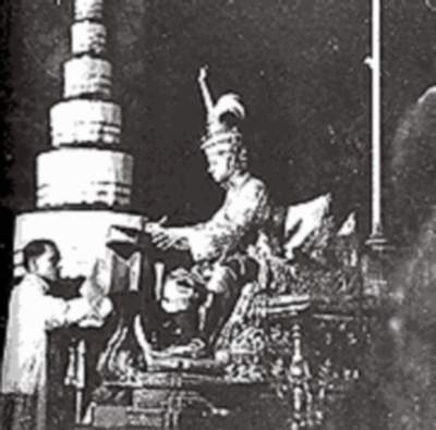 King Prajadhipok signs the first constitution on Constitution Day, 10th December 1932