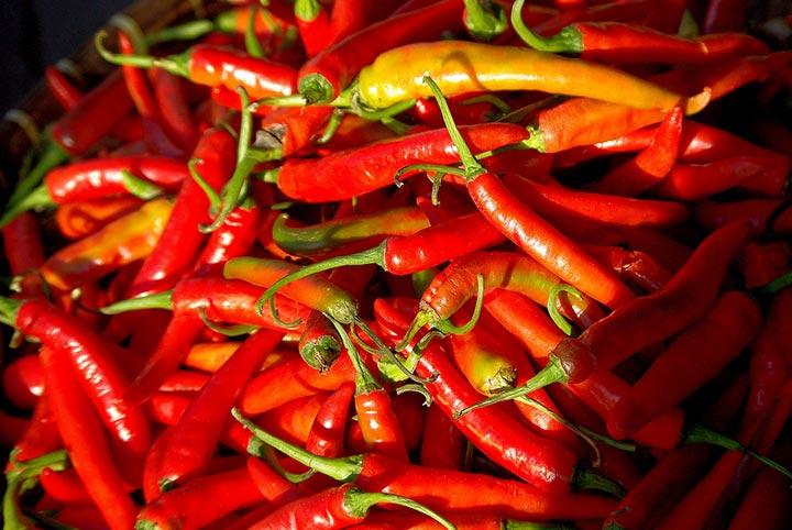 Chilli at Bang Niang Market