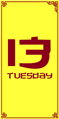 Tuesday 13th