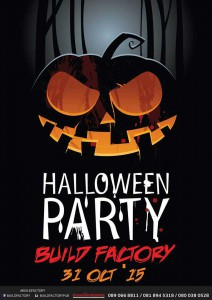 Halloween Party @ Build Factory