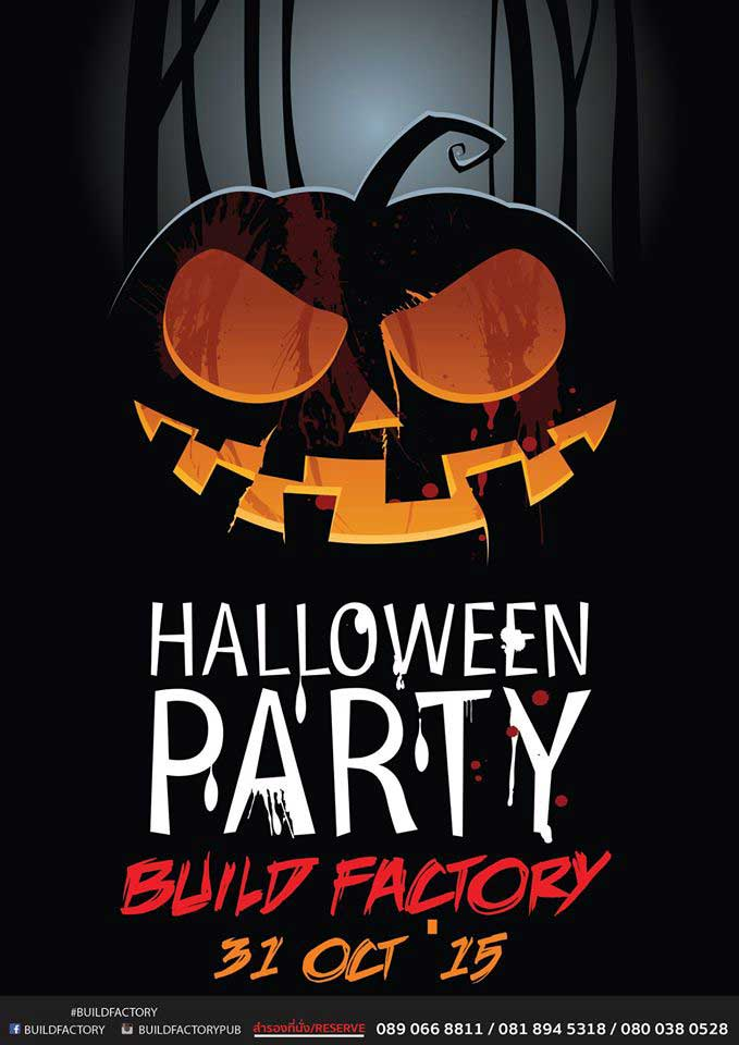 Halloween party at Build Factory Khao Lak