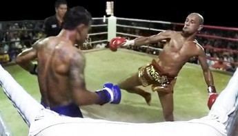 Lemsing on his 500th Muay Thai fight