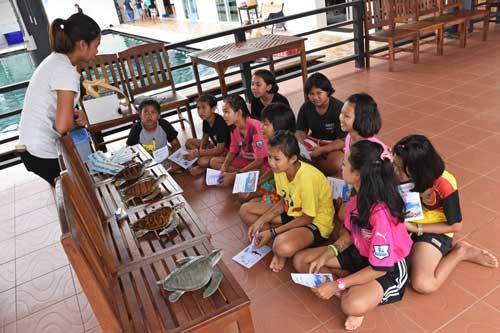 Mai Khao Marine Turtle foundation presentation