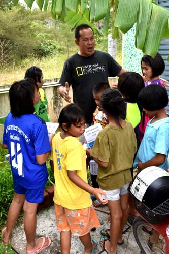 Andaman Sweetlips Dive Academy community work