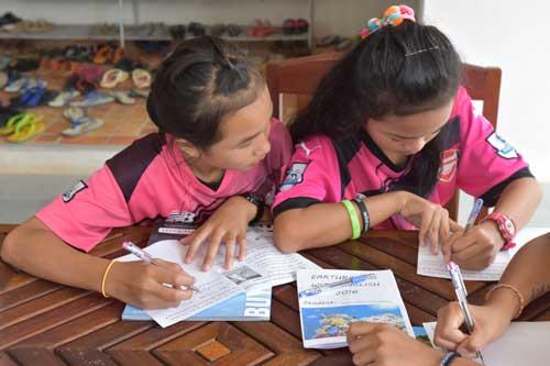 Earthraging Khao Lak community charity project