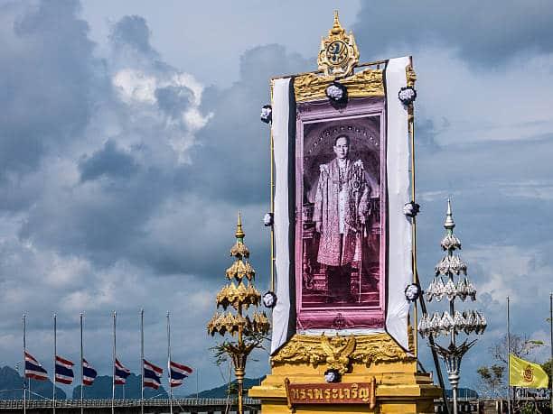 Portrait of King Bhumibol