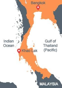 The Kra Isthmus Thailand