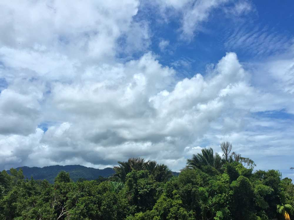 Clouds to the East of Khao Lak