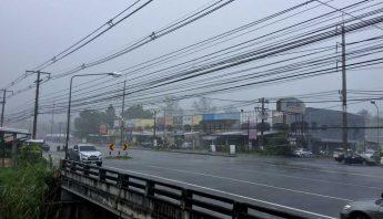 Heavy rain in Bang Niang